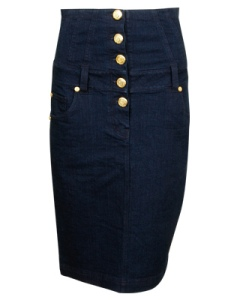 Forever 21's High Waist Denim Pencil Skirt $22.80